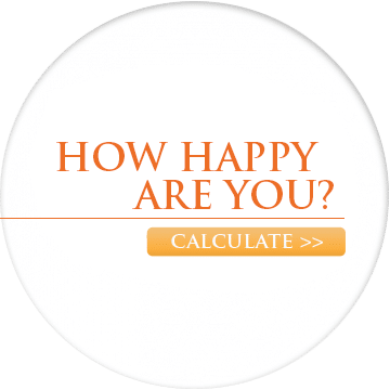 Calculate how happy you are and set up your life for optimal happiness