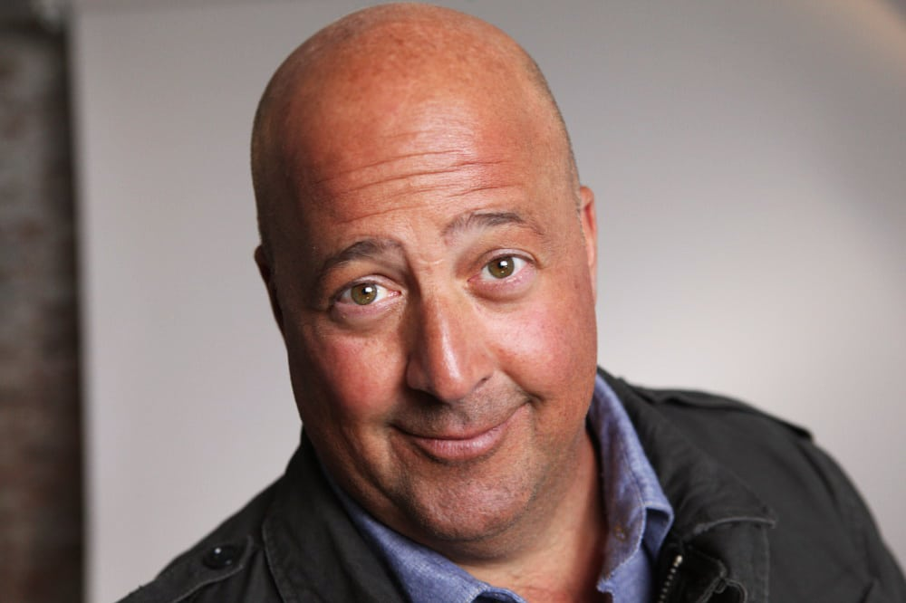 "Andrew Zimmern, Host of ""Bizarre Foods""