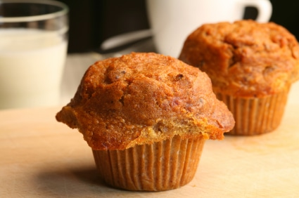 Lightly Spiced Carrot Muffin - Blue Zones