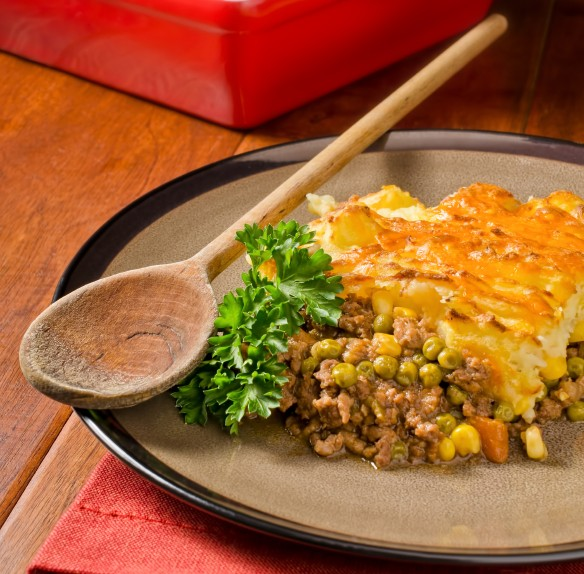 Vegetable Shepherd's Pie - Blue Zones