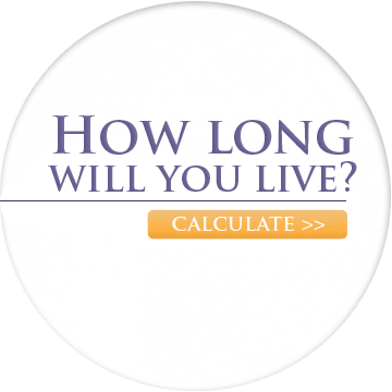 Calculate how long you will live and learn secrets to a longer life