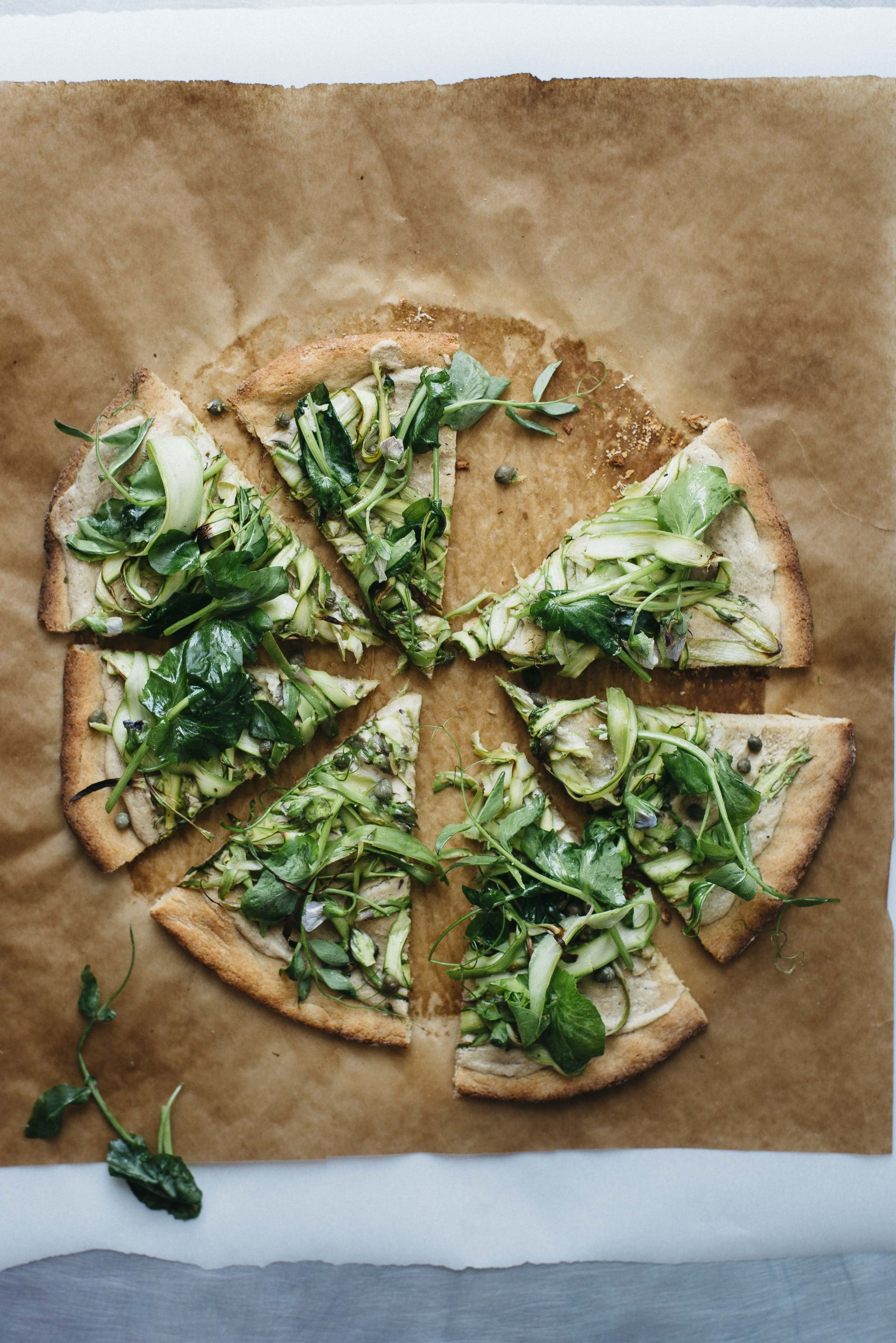 Chickpea Vegan Pizza