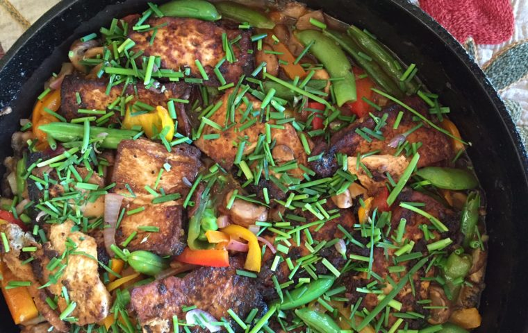 Cantonese-Style Tofu and Black Bean Sauce