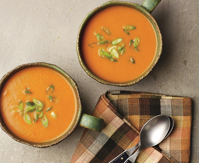 Pumpkin Curry Soup from Go Dairy Free
