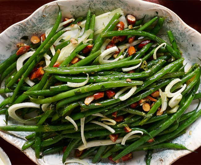 Green Beans and Fennel with Tarragon from Country Living
