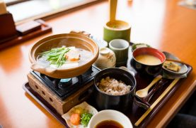 Blue Zones Japanese meal