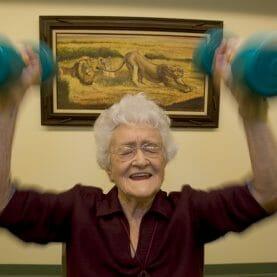 anti aging strength training