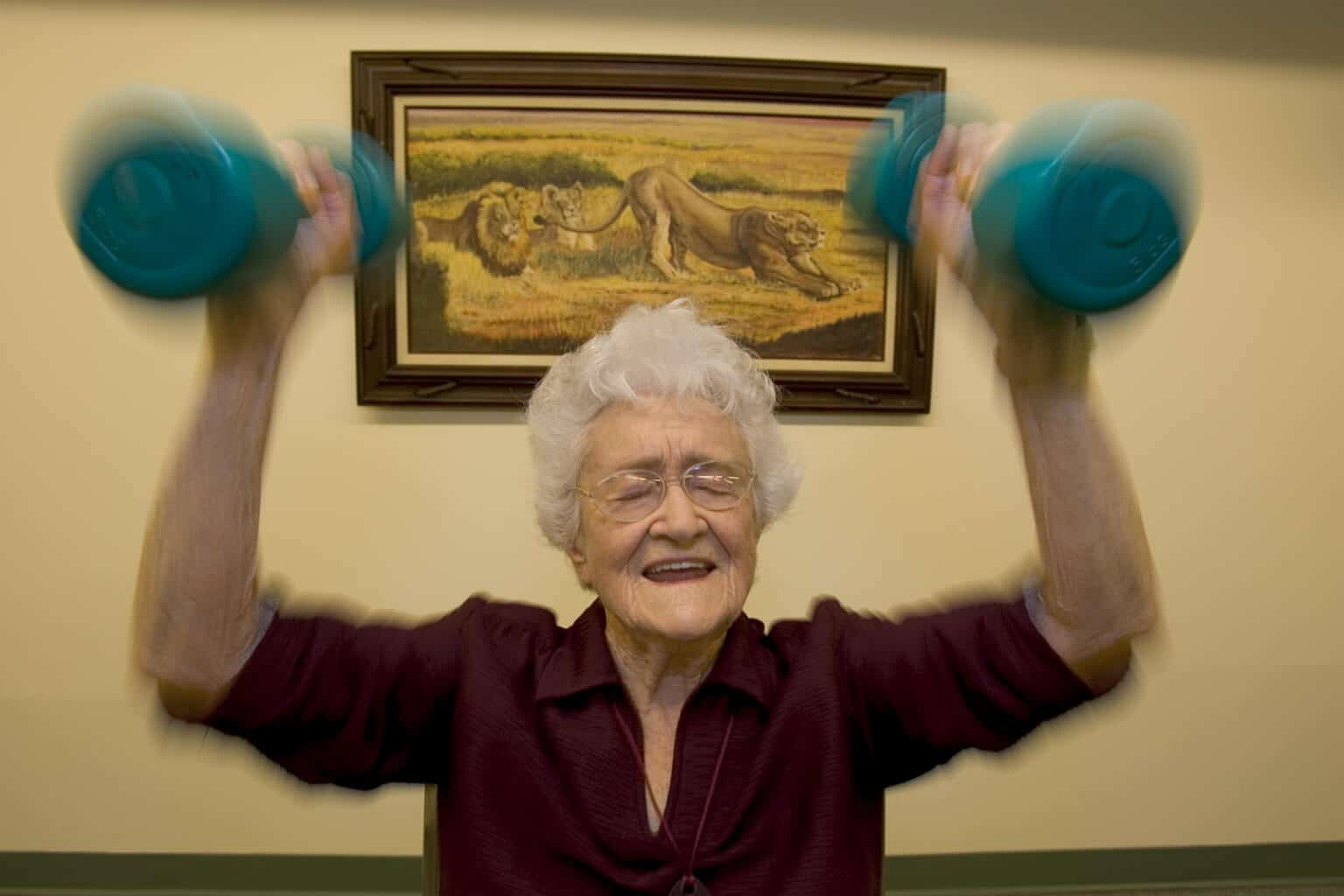 anti aging strength training