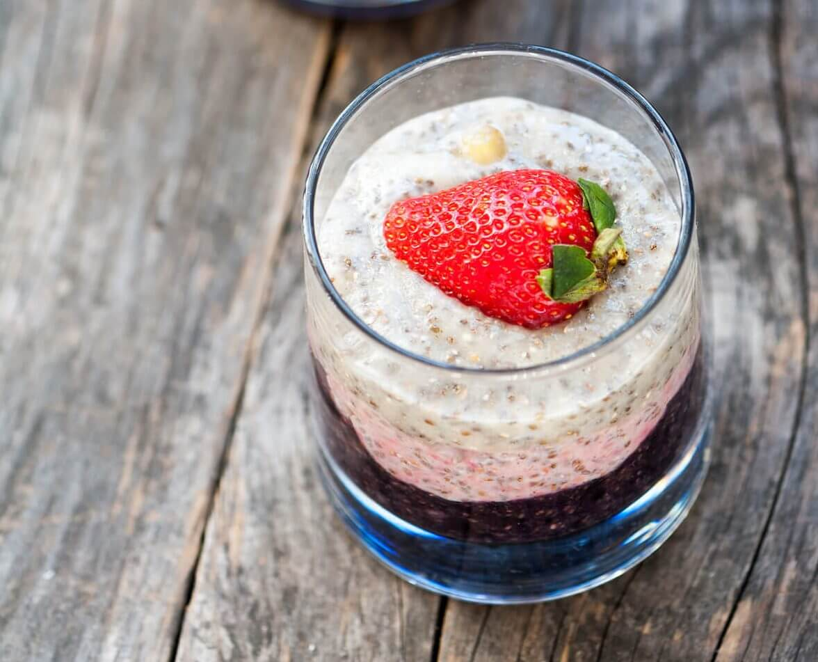strawberry-chia-pudding