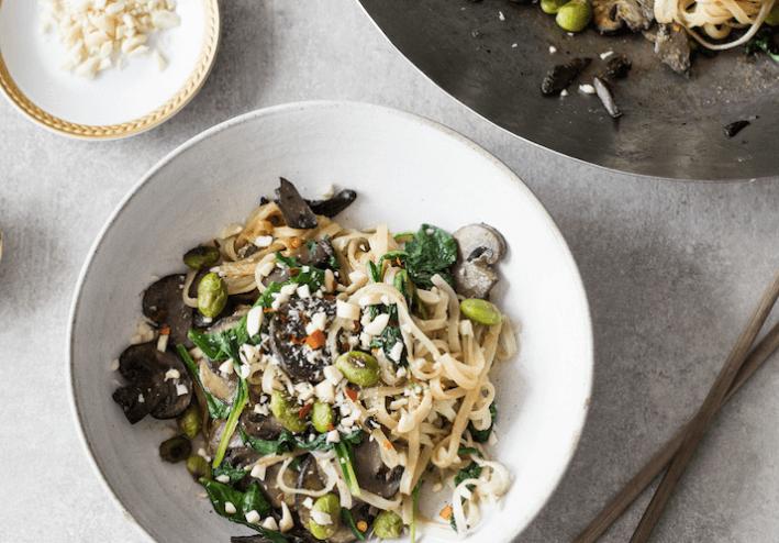 wild-mushroom-rice-noodles