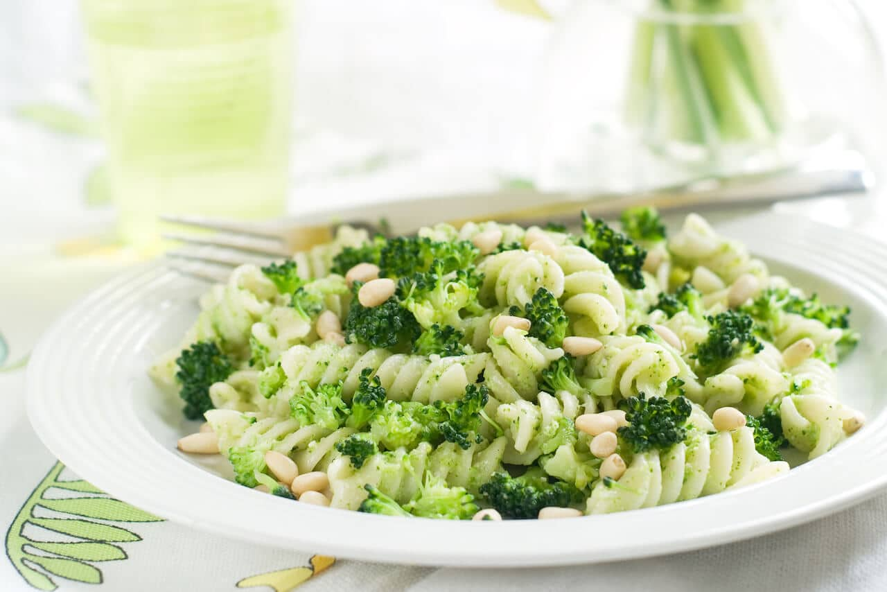 pasta-broccoli-pine-nuts
