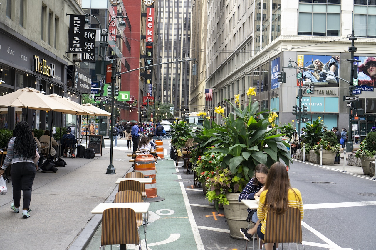 open streets in NYC