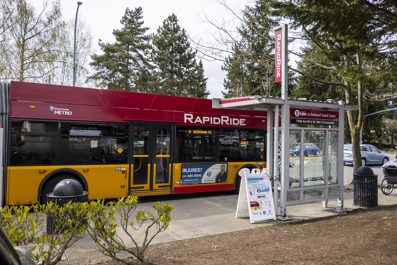 rapid ride metro bus